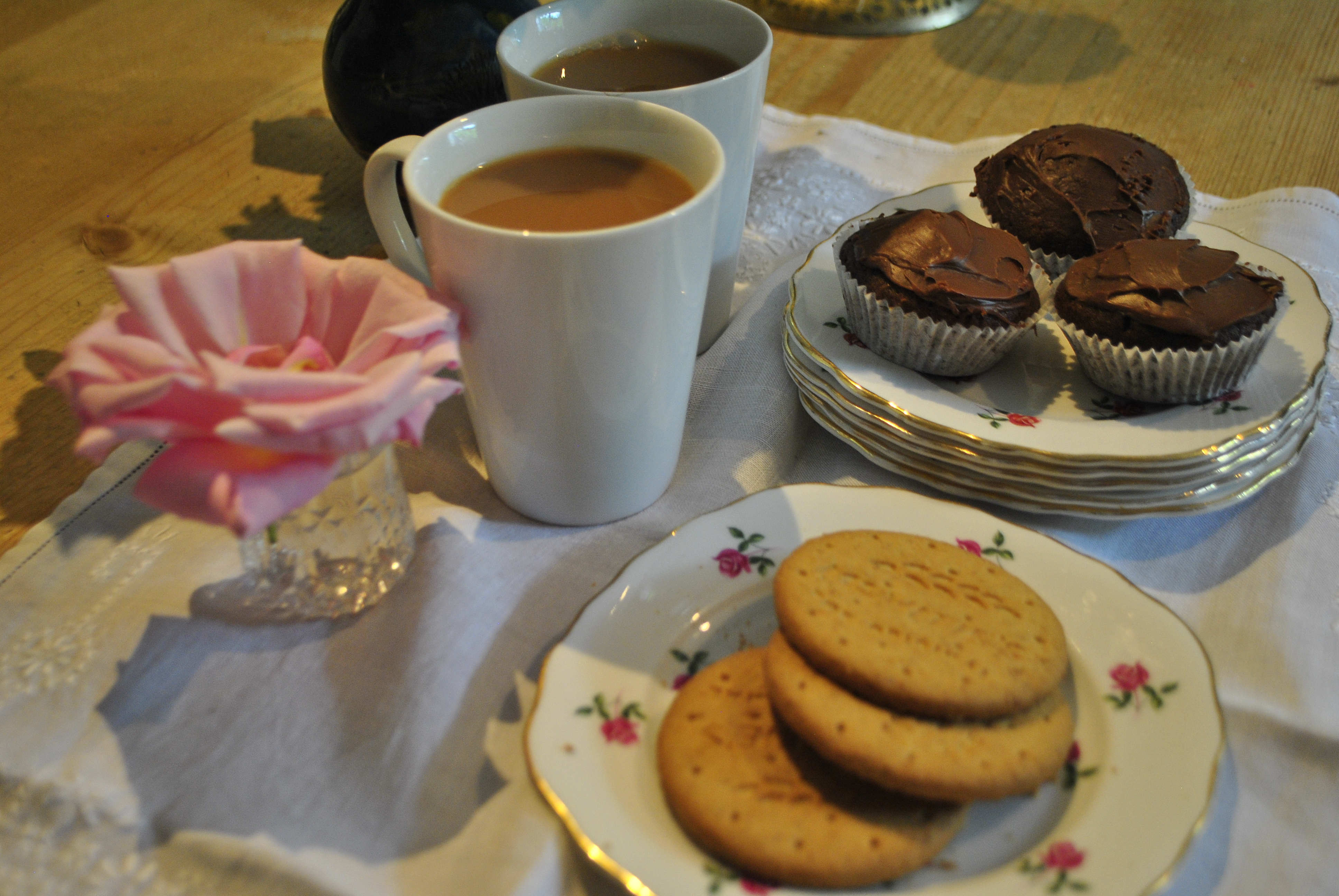Some tea and cakes